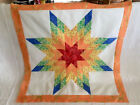 Lone Star Patchwork Quilt Top LS 020
