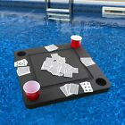 Floating Game Table Card Tray Pool Beach Float 235 Lounge Float w Cards