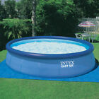 Round Above Ground Swimming Pool Set w Cleaning Maintenance Swimming Pool Kit