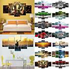5pcs Unframed Large Modern Art Oil Painting Print Canvas Picture Wall Home Decor