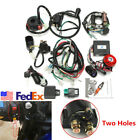 For 50cc 70cc 110cc 125cc ATV Scooter Full Electrics Wiring Harness Set USA Ship