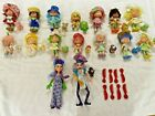 Vintage STRAWBERRY SHORTCAKE Doll LOT of 16 Dolls, Pets & Combs - 1984 - WOW!!!