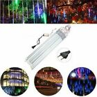 Christmas Meteor Shower Rain LED Lights Falling String Tree Decoration Outdoor