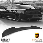 FOR 2011 2018 DODGE CHARGER HELLCAT STYLE MATTE BLACK ABS REAR SPOILER WING USA