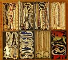 LOT 63 VINTAGE ESTATE GEMSTONE NECKLACES BEADS STRANDS CHOKERS ONYX MOP GLASS ++
