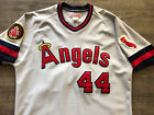 Authentic Mitchell and Ness M&N 1985 Los Angeles Angels Reggie Jackson Jersey XL