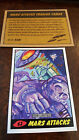 2014 TOPPS IDW LIMITED MARS ATTACKS REPRINT SKETCH CARD APRICOT MANTLE # 62