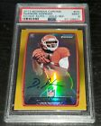 2013 Bowman Chrome Deandre Hopkins RC Auto Gold Refractor 75 PSA 9