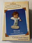 Hallmark Willow Mary's Angel Ornament 15th in Series 2002 Angel with Bells NIB