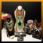 Huge Vintage to Now Jewelry Lot Estate Find All Wearable Boho