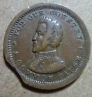 Rare Curved Clip 135 441 Civil War Token Common Cause Andrew Jackson 338