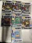 Funko POP! Games Kingdom Hearts Lot of 7 POPS! Common And Exclusives +Protectors