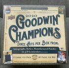 2020 Upper Deck UD GOODWIN CHAMPIONS Hobby Box *SEALED* Unopened 3 Hits Avg