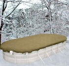 12x20 OVAL DOUGHBOY Above Ground Winter Swimming Pool Solid Cover 12Yr Wrnty