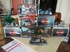 Harley Davidson Motorcycles 8 Lot Maisto Hot Wheels Diecast Plastic Models 118