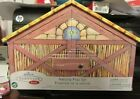 HALLMARK NATIVITY PLAY SET IN STABLE DATED 2005 MINT NEW