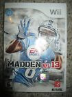 Madden 12 Hall of Fame Edition Swag Includes Autographed Marshall Faulk Card 12