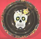 DAY OF DEAD 11 Serving Candy Bowl Williams Sonoma HALLOWEEN Sugar Skull NEW NIB