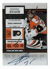 Sergei Bobrovsky 2010-11 Playoff Contenders ROOKIE AUTOGRAPH #154 Blue Jackets