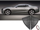 2pcs ABS Quarter Side Window Scoop Louvers Cover Trim for Chevy Camaro 2010 2015