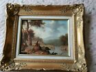 The Sheppard by Master Artist Richard Peterson mueum quality 10x12 oil