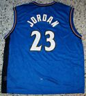 Michael Jordan Signed Autographed Auto Wizards Basketball Jersey JSA Photo LOA!