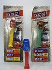 Lot Of 3 Disney Pixar Cars Pez Dispensers Lightning Tow Mater Doc Hudson Hornet