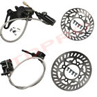 Front Rear Disc Rotor w Brake Caliper Master Cylinder Dirt Pit Bike 125cc 150cc