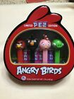 PEZ Dispensers Angry Birds Set Sealed Tin. Candy made in USA