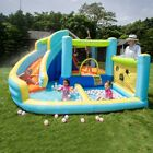 Inflatable Water Slide With Blower Bounce House Bouncer Castle Kids Pool