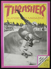 THRASHER magazine vol I no 6 June 1981  skateboard PUNK skate ZORLAC Alba