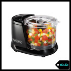 15 Cup Electric Food Chopper With Stainless Steel Blade 70 Watt Processor Black