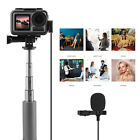 For Osmo Action Sport Camera Audio Omnidirectional Lavalier Recording Microphone action audio camera for lavalier microphone omnidirectional osmo recording sport