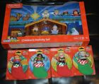 FISHER PRICE LITTLE PEOPLE ONLY AT TARGET CHILDRENS NATIVITY SET  STOCKING SET