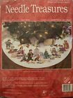 Needle Treasures Christmas Pageant Tree Skirt Cross Stitch Kit Nativity Scene