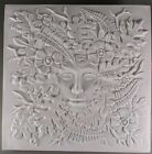 Woman of the Woods CREATIVE PARADISE Glass Kiln Fusing Mold Tile 12 x 12 Large