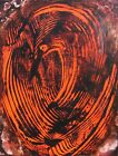 Modernist ABSTRACT PAINTING Expressionist MODERN ART DEVILS NEST FOLTZ