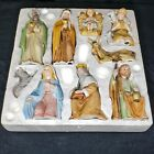 Homco Holiday Nativity Scene Ceramic Figurines