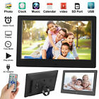 10 Digital Photo Frame Electronic Picture Video Player Movie Album HD Dispaly