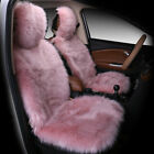 1x Faux Sheepskin Wool Fur Car Seat Cover For Cars Accessories