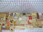 6 lb Box lot 71 Rubber Stamps Stampendoi Dk Stampa Rosa Hero Great Impressions