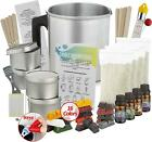 Complete DIY Candle Making Kit Supplies 16 Color Dyes Perfect Crafting Gift Idea