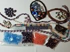 Bead Lot Variet Peanut Faceted Round Lampwork Dagger Beads ETC Lot of 17