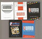 5 rittenhouse wnba factory sealed sets 2012,2014,2015,2017,2018,getting scarce