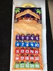 FISHER PRICE NATIVITY ADVENT CALENDAR CHRISTMAS LITTLE PEOPLE MUSICAL SOFT W BOX