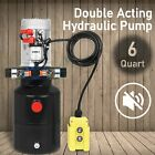 Double Acting 6 Quart 6 L Hydraulic Pump Dump Trailer 12V for Wide Application