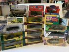 Lot Of 15 Vintage Die Cast Military Vehicles Tanks Solido Verem Corgi  More