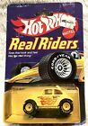 Vintage Hot Wheels Real Riders BAHA BUG White w Flames 1982 Malaysia 164 Scale