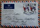 England 1966 World Cup Winners first day cover stamps TAUNTON Air Mail BFPO