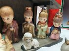 Vintage Home Interiors 13 piece porcelain Nativity set in box